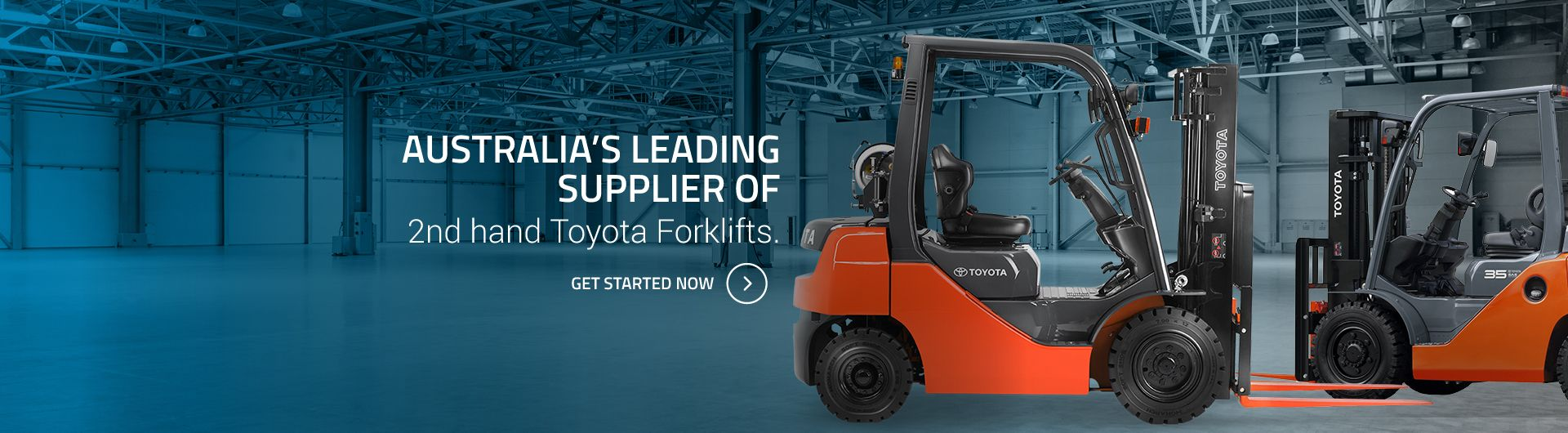 Formidable - Leading Supplier of used Toyota Forklifts