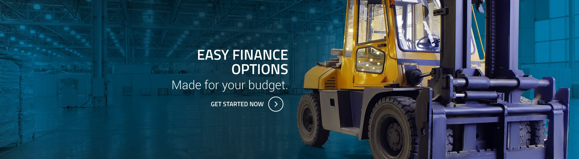 Formidable Forklifts - Financing Available