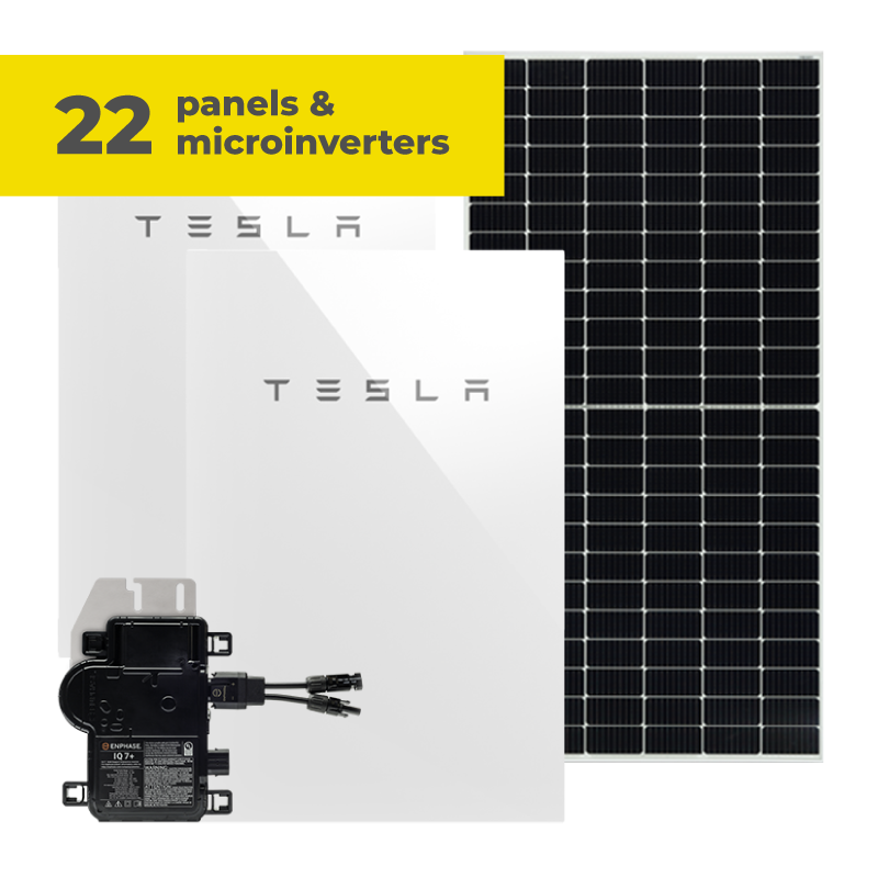 24 panels and microinverters