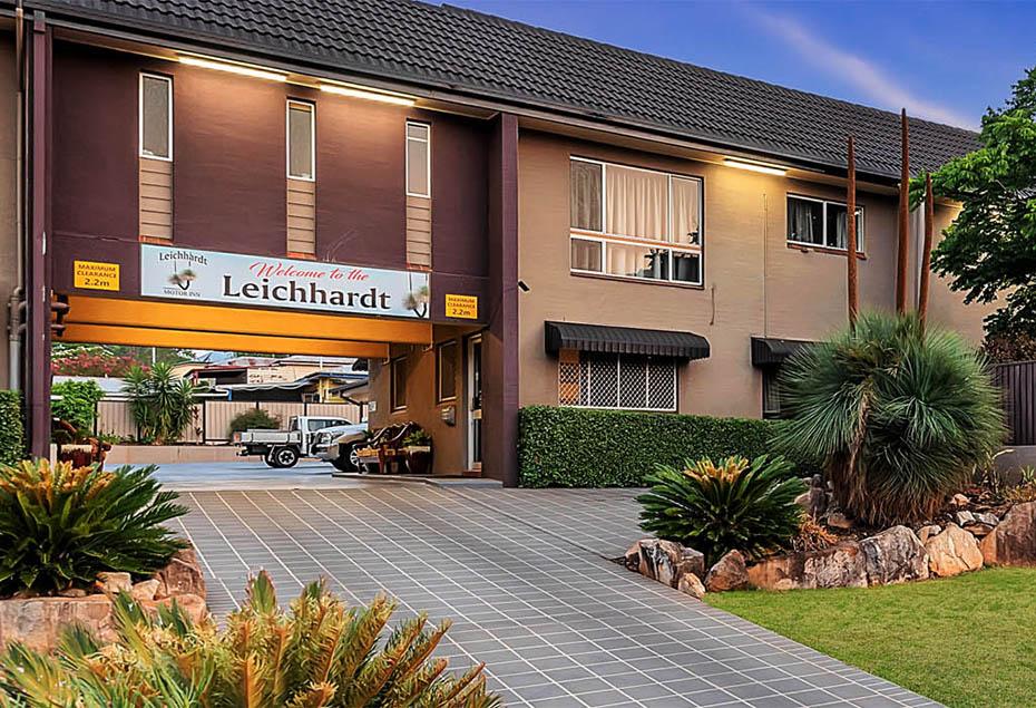 Exterior of the Leichhardt Motor Inn