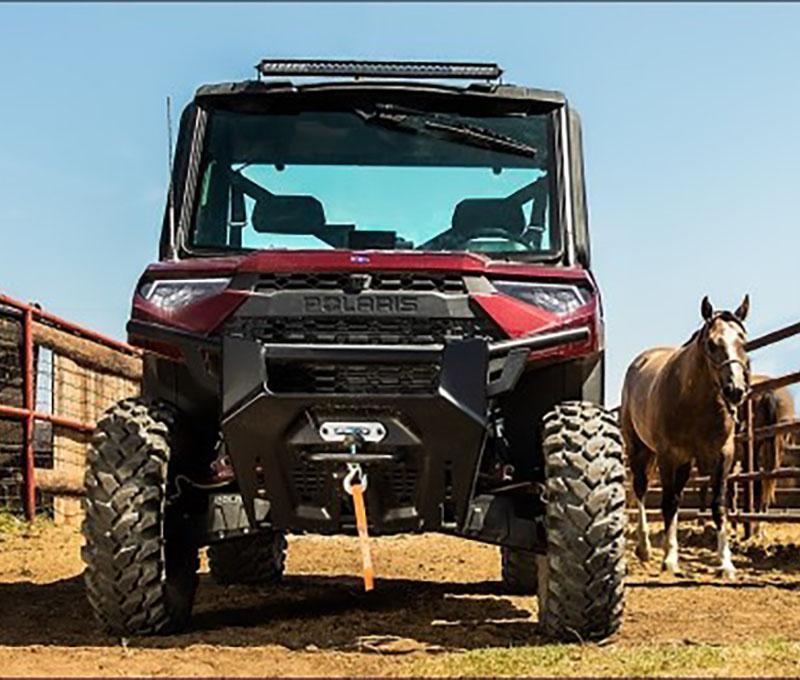Polaris Side X Side Vehicle on farm